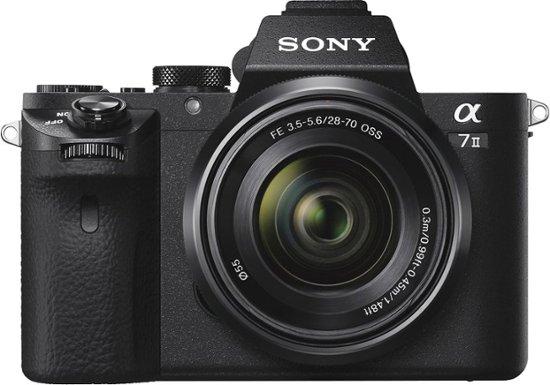 Sony a6500 Vs Sony a7II