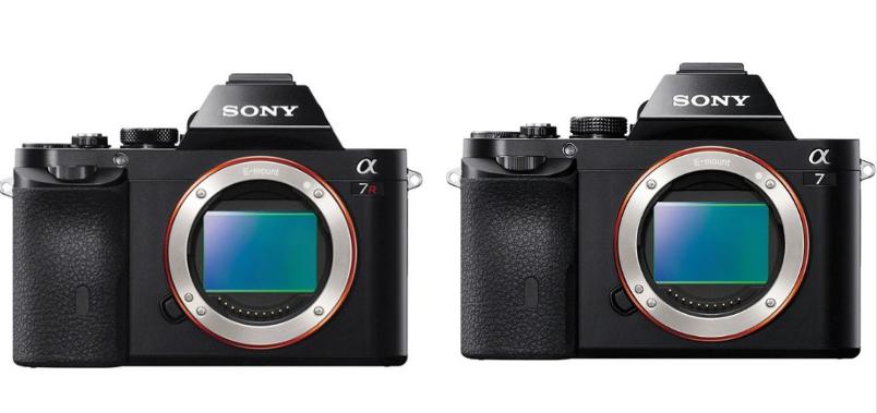 Sony a7 Vs a7R