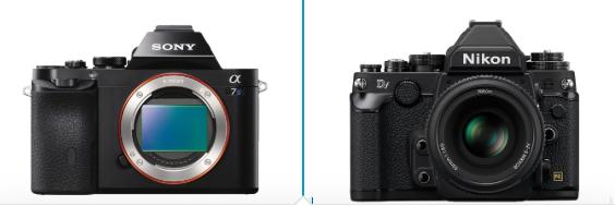 Sony a7S vs Nikon DF