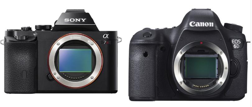 Sony a7R Vs Canon 6D