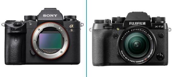Sony a9 Vs Fuji XT2