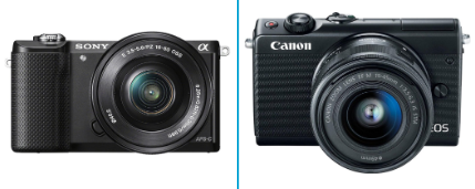 Sony A5000 Vs Canon m100 – Comparison Article